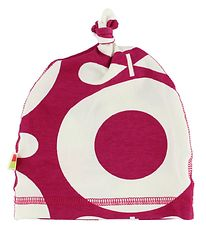 Katvig Beanie - Dark Pink w. Apples