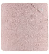 Pippi Hooded Towel - 83x83 - Rose