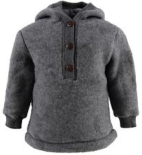 Mikk-Line Wool Jacket - Grey Melange