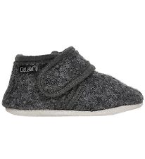 CeLaVi Slippers - Wool - Charcoal