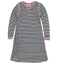 Joha Nightdress - Black/White Striped