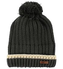 Ticket To Heaven Hat w. Pom-Pom - Knitted - Wool/Polyester - Cha
