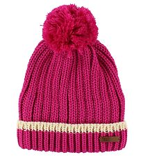 Ticket To Heaven Hat w. Pom-Pom - Knitted - Wool/Polyester - Pin