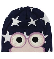 Freds World Beanie - Navy/Powder w. Star/Frog