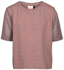 Sport by Sofie Schnoor T-shirt - Light Brown w. Text