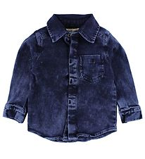Small Rags Shirt - Navy Denim
