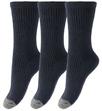 MarMar Socks - 3-Pack - Navy/Grey
