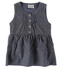 Fixoni Dress - Denim w. Buttons