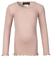 Rosemunde Blouse - Rose Powder w. Lace