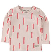 Papfar Blouse - Rose Powder w. Coral