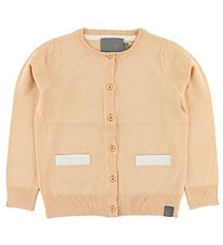 Creamie Cardigan - Knitted - Coral