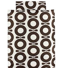 Katvig Classic Duvet Cover - Junior - White/Brown Apples