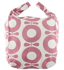 Katvig Beach Bag - White w. Pink Apples