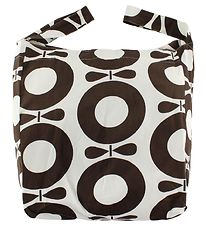 Katvig Beach Bag - White w. Brown Apples