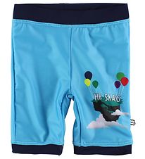 Ramasjang Kluns Swim Shorts - UV50 - Hr. Skæg - Light Blue