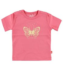 Me Too T-shirt - Pink w. Butterfly