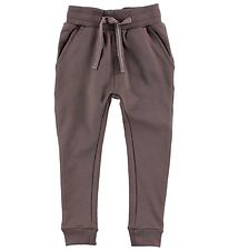 Nordic Label Sweatpants - Dark Purple