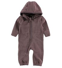 Nordic Label Fleece Suit - Dark Purple