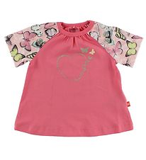 Me Too T-shirt - Pink w. Butterflies