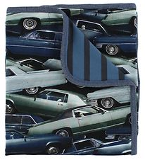 Molo Blanket - 80x75 - Niles - Stacked Cars