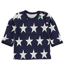 Freds World Blouse - Navy w. Stars