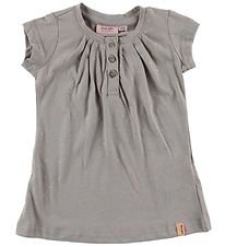 Noa Noa Miniature Dress - Grey w. Silver Dots