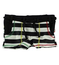 Katvig Classic Swim Pants - UV60 - Black/White Striped