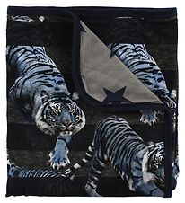 Molo Blanket - 80x75 - Niles - Blue Tigers