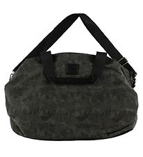 Petit by Sofie Schnoor Changing Bag - Dark Grey w. Leaves
