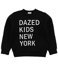 DKNY Blouse - Black w. White Text