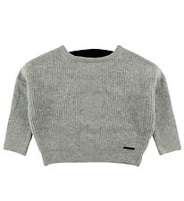 DKNY Blouse - Wool - Light Grey