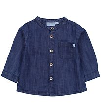 Noa Noa Miniature Shirt - Blue Denim