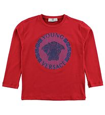 Young Versace Blouse - Red w. Logo
