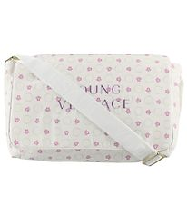 Young Versace Changing Bag - White w. Rose Medusa
