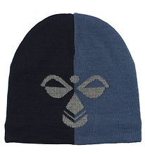 Hummel Hat - HMLStark - Wool/Polyester - Dusty Blue/Navy