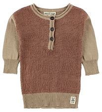 Small Rags Dress - Knitted - Cognac/Light Brown