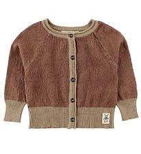 Small Rags Cardigan - Knitted - Cognac/Light Brown
