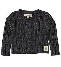 Small Rags Cardigan - Knitted - Navy w. Glitter