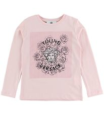 Young Versace Blouse - Rose w. Medusa