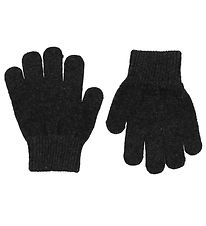 Mikk-Line Gloves - Polyester/Wool - Charcoal