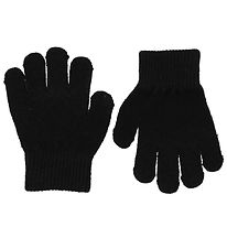 Mikk-Line Gloves - Polyamide/Wool - Black