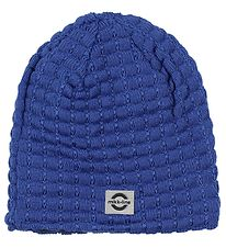 Mikk-Line Hat - Wool/Cotton - Knitted - Blue