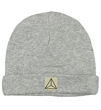 Nordic Label Beanie - Grey Melange