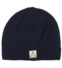Nordic Label Hat - Wool/Cotton - Navy