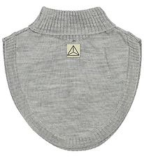 Nordic Label Neck Warmer - Wool - Grey Melange