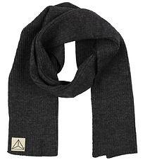 Nordic Label Scarf - Wool - Charcoal