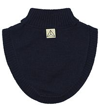 Nordic Label Neck Warmer - Wool - Navy
