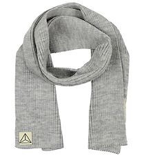 Nordic Label Scarf - Wool - Grey Melange