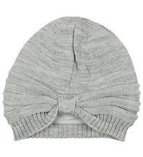 Nordic Label Hat - Wool/Cotton - Grey Melange