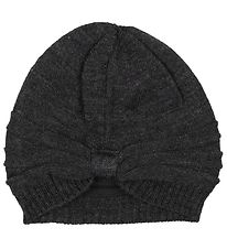 Nordic Label Hat - Wool/Cotton - Charcoal